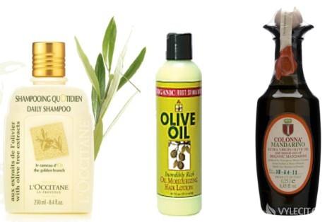 Pečujte oně, třeba pomocí olivového oleje